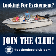 Looking for excitement? Join the Club! FreedomBoatClub.com